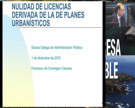 Panel de expertos: a incidencia da anulación do plan nos dereitos e intereses dos cidadáns